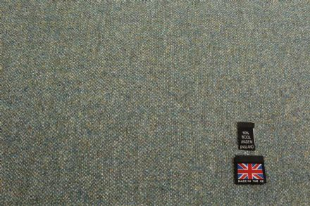 100% Pure New Wool Classic  Hopsack Tweed Fabric BZ49